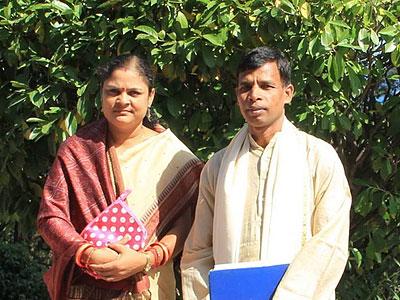 м-р Свэйн Сукант и м-с Свэйн Рашмирекха